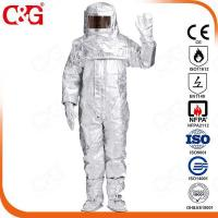 Quality Aluminized thermal insulation clothing for sale