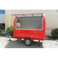 Quality Top quality street food trailer mobile food cart with wheels for sale