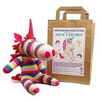China Sock Unicorn Craft Kit by Sock Creatures on sale
