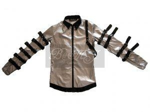 Buy Michael Jackson Bad Tour Jacket in Silver at wholesale prices