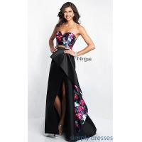 Quality Intrigue by Blush Floral-Print Prom Dress BL-IN-404 for sale