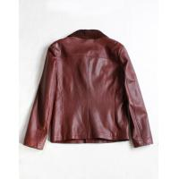 Men's leather jacket AMANI style new fashion 2014 No: M1279DQ