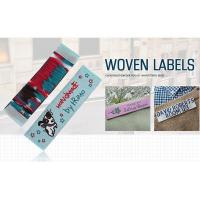 Buy cheap Fabric Custom Name Cotton Embroidered Woven Labels for Clothing from wholesalers