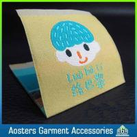 Buy cheap Handmade Name Logo Kids Clothing Fabric Labels for Clothing from wholesalers