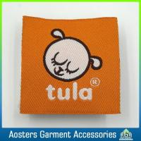 Buy cheap Custom Designer Clothing Fabric Woven Labels Low Minimum from wholesalers