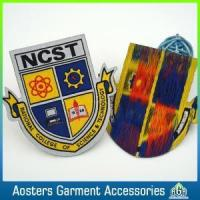 Quality Personalized School Badges Sew on Clothing for sale