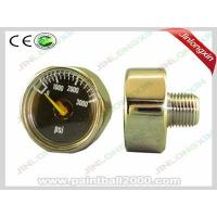 Quality Paintball Accessories 1/8-27 NPT 25mm 3000 Psi Pressure Gauge for sale