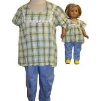 Buy cheap Girls Cargo Pants Size 7 With Doll Matching Set from wholesalers