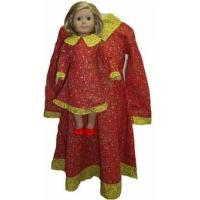 Buy cheap Girl and Dolls Size 7 Matching Red Prairie Dress from wholesalers