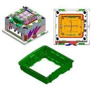 Buy cheap plastic washing machine bottom parts mould from wholesalers