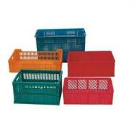 Buy cheap plastic injection turnover box mould from wholesalers