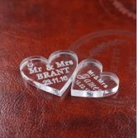 Buy cheap Gifts, Sports & Toys rystal Heart Personalized MR&MRS from wholesalers