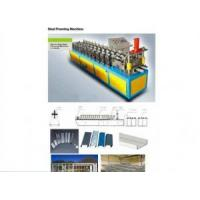 Buy cheap Material 0.27-0.6 mm Galvanized Steel Stud Track Roll Forming Machine from wholesalers