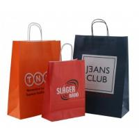 Quality Twisted handle paper bags, kraft paper ba for sale