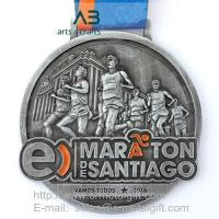Buy cheap Metal sports medals,race medals,award medals producer in China from wholesalers