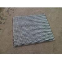 Buy cheap Mild Steel and Carbon Steel Conveyor Belt with Hot Dipped galvanized Plating from wholesalers