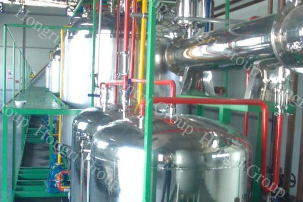 China Animal Oil Biodiesel Plant Machine For Sale