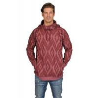 Buy cheap ARSNL Mens Printed Hooded Turtle Neck Pullover Sweater from wholesalers