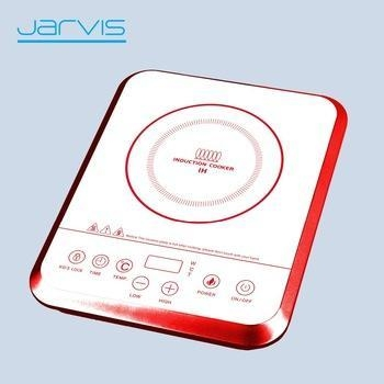 China Induction Cooker with White Ceramic Plate for Korea