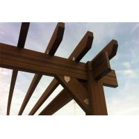 Buy cheap WPC Pergola best product for public area from wholesalers