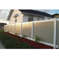 Buy cheap PVC Fence white fence for your backyard from wholesalers