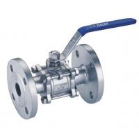 Buy cheap 3PC Flanged Manual Ball Valve from wholesalers