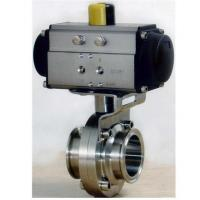 Buy cheap BDD-03F Pneumatic Butterfly Valve from wholesalers