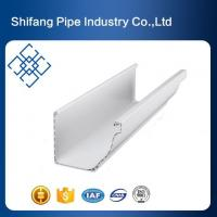 China PVC Gutters Square Roofing Gutters and Downspouts for Home on sale