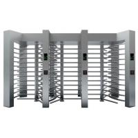 Quality High Security Entrance Control Full Height Turnstiles Rotated Gate for sale
