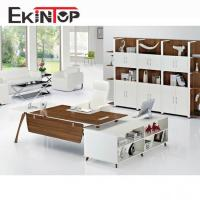 China L-shaped office desk for home or professional office on sale