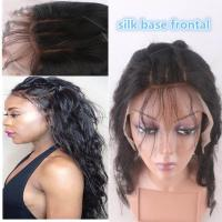 """Quality 13""""*4"""" Silk Base Frontal Closure With Hidden Knot Body Wave hair weave for sale"""