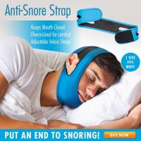 China Anti Snore Sleep Chin Strap -Snore Relief Guard - Jaw Srap Snore Solutions Device on sale