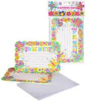 Quality Spring Butterfly Party Invitations, pk/10 for sale
