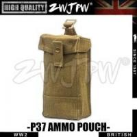 Quality BRITISH MILITARY WW2 UK British Army Pure cotton Front Ammo Pouch High-Quality Replica-UK/105107 for sale
