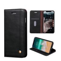 China Apple iPhone Cases PU Leather Slim Book Magnetic Stand Protective iphone X case on sale