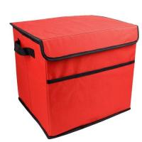 Red 600D Oxford Car Trunk Storage Bag