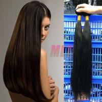 100% BRAZILIAN hair extension straight 12-28inch, 8A grade, natural color