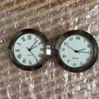 China 1 7/16inch plastic insert clock fit up clock on sale