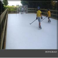 Quality 4x8 plastic skating sheet/ portable hockey training board/synthetic ice rink for sale