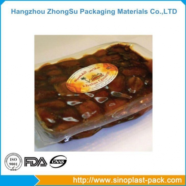 China Custom Printed Plastic Bags Decorative Plastic Sheets Disposable Food Tray
