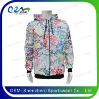 China Fashion girls wear custom cotton hoodies on sale