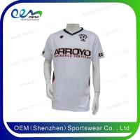 Quality 2016 new design custom soccer jersey for sale