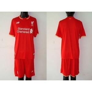 China 15-16 Liverpool Customized Home Soccer Jersey & Short