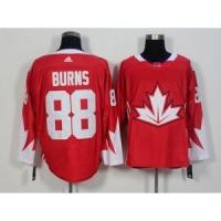 Quality 2016 World Cup Team Canada No.88 Brent Burns Red Jersey for sale
