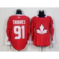 Quality 2016 World Cup Team Canada No.91 John Tavares Red Jersey for sale