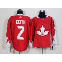 Quality 2016 World Cup Team Canada No.2 Duncan Keith Red Jersey for sale