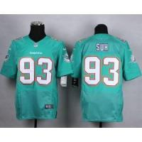 China Miami Dolphins No.93 Ndamukong Suh Green Jersey on sale