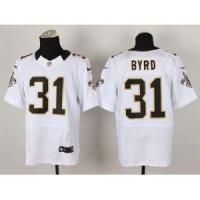 Buy cheap New Orleans Saints No.31 Jairus Byrd White Jersey from wholesalers