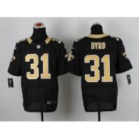 Buy cheap New Orleans Saints No.31 Jairus Byrd Black Jersey from wholesalers