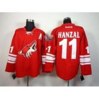Buy cheap Phoenix Coyotes No.11 Martin Hanzal Red Jersey from wholesalers
